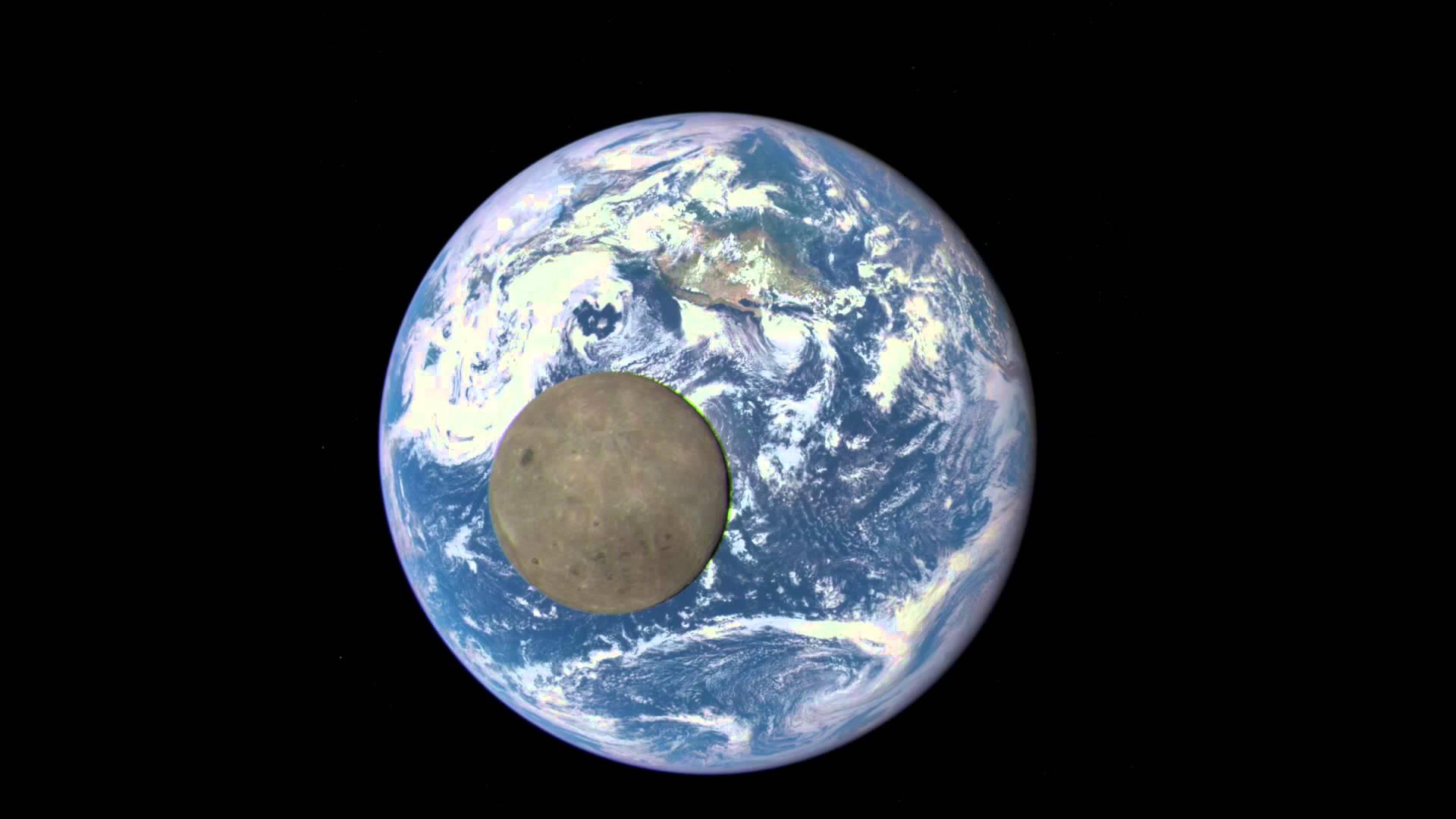VIDEO: TAMNA STRANA MJESECA Zapanjujuće snimke prolaska Mjeseca ispred Zemlje