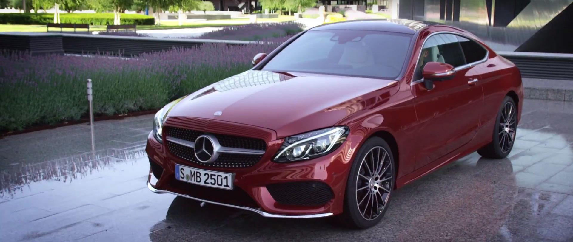 Mercedes predstavio C klasu Coupe za 2016. godinu