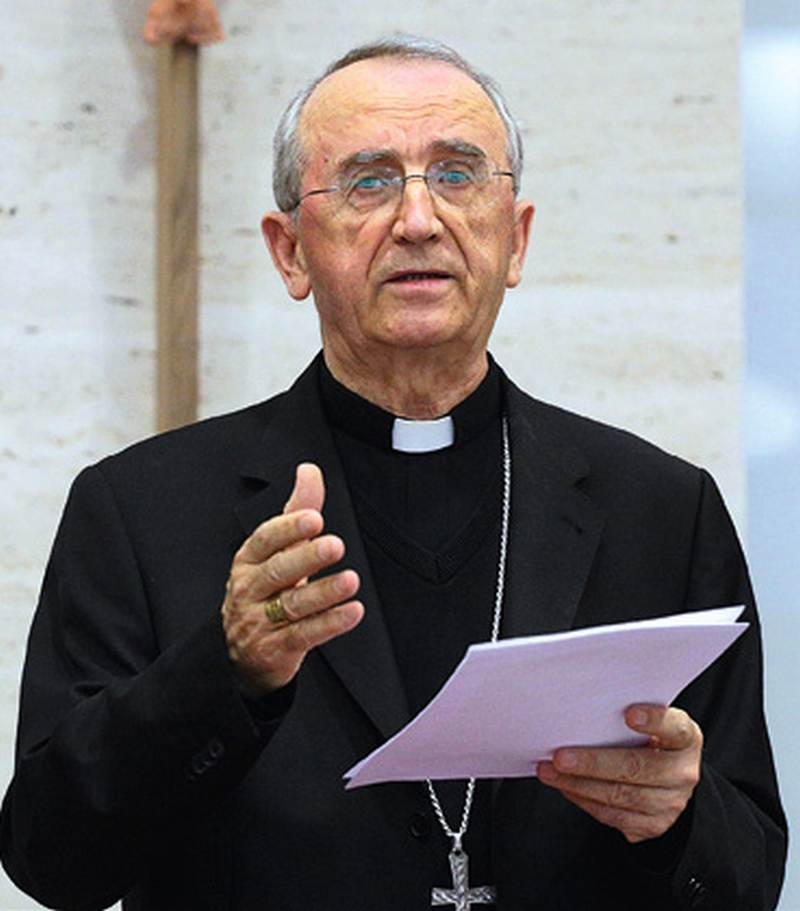 Kardinal Puljić posjetio uhićene branitelje HVO-a