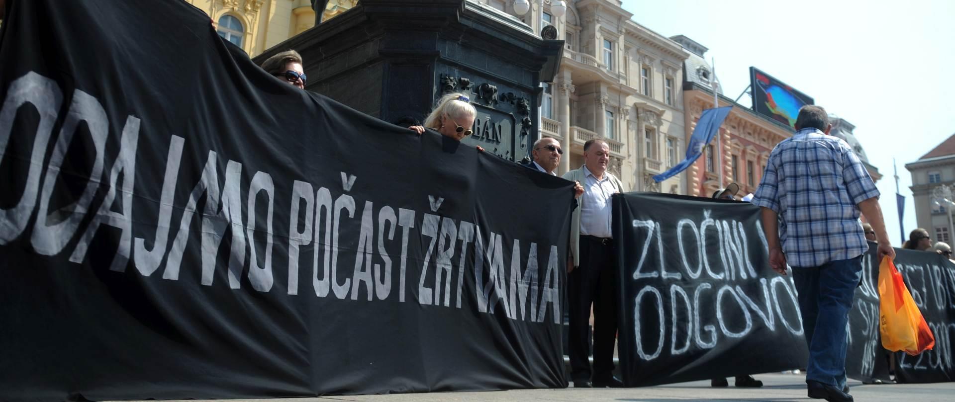 """Na Trgu nekoliko organizacija odalo počast svim žrtvama """"Oluje"""""""