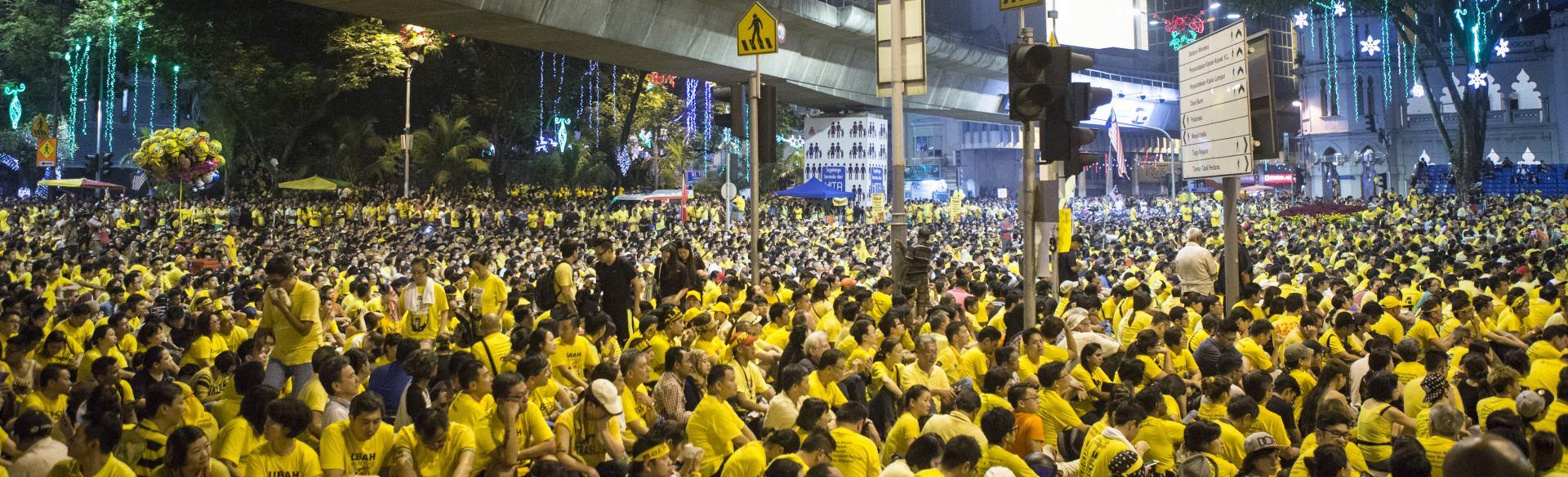 VIDEO: Prosvjed u glavnom malezijskom gradu Kuala Lumpuru