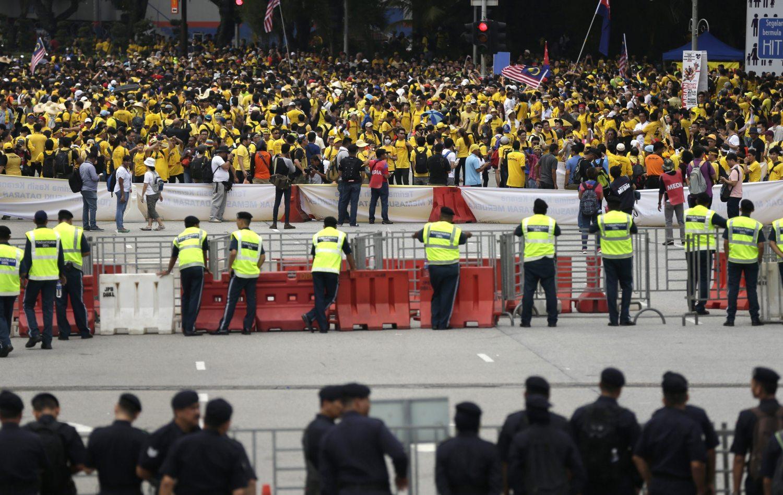 Prosvjedi protiv malezijskog premijera