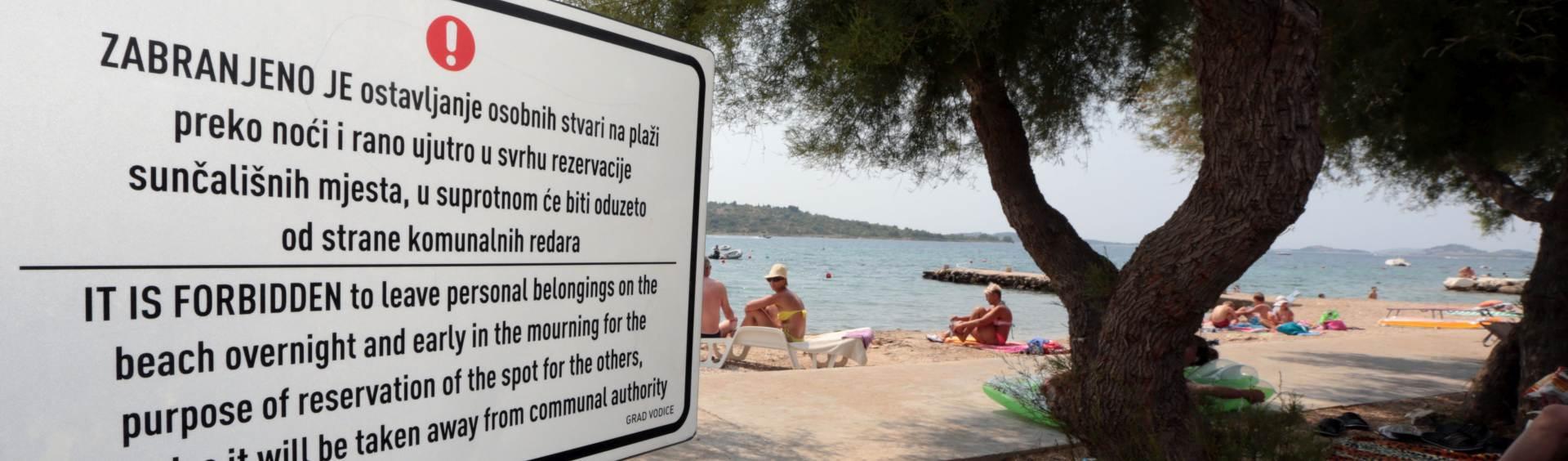 """NAKON ŠPANJOLSKE: I Hrvatska zabranila """"rezervacije mjesta na plaži"""