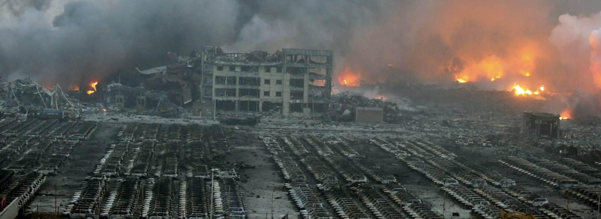 ŠOKIRANI SNAGOM: Eksplozije u Tianjinu zabilježene kao potresi