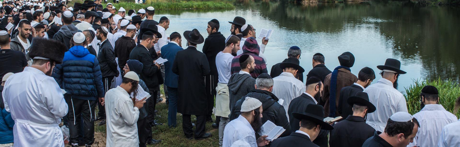 VIDEO: Hasidi slave židovsku Novu godinu u Ukrajini