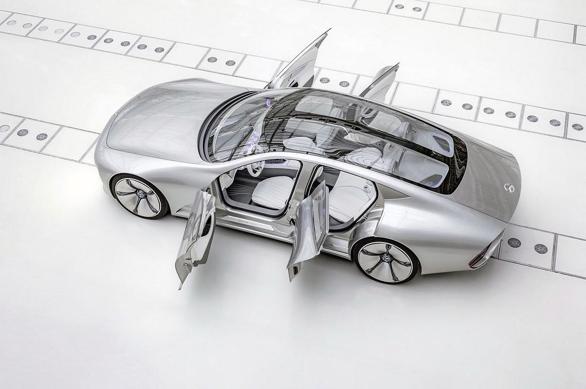 Mercedesov automobil budućnosti mijenja oblik u vožnji