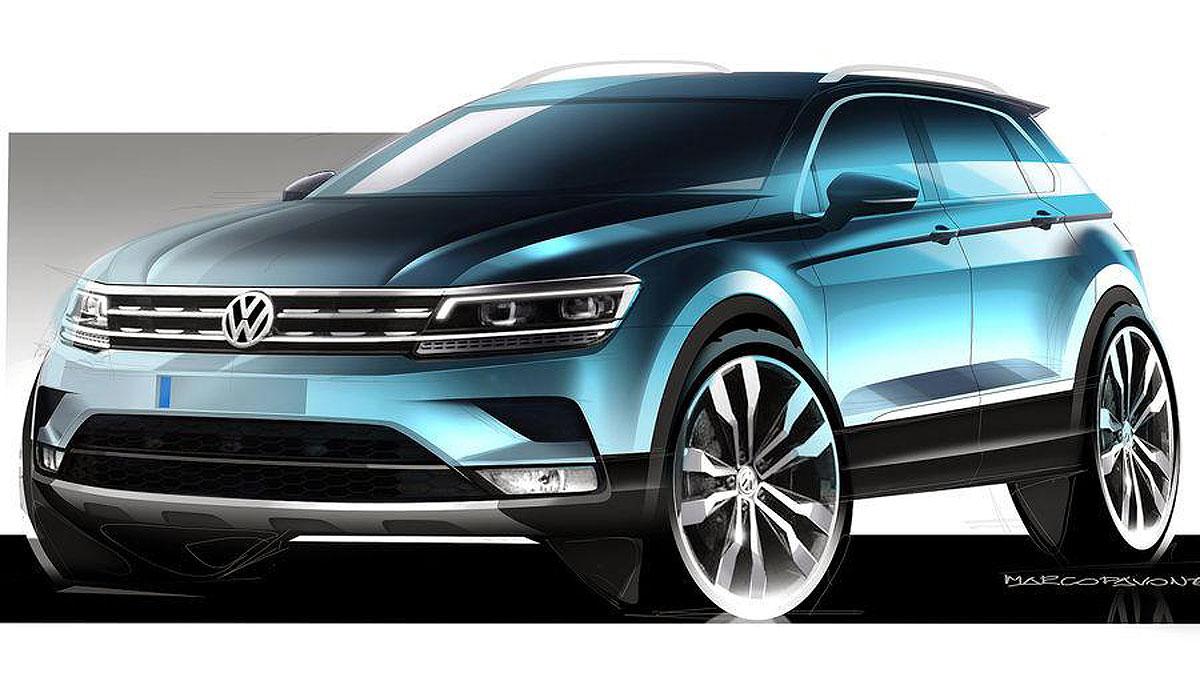 Volkswagen objavio prve crteže novog Tiguana