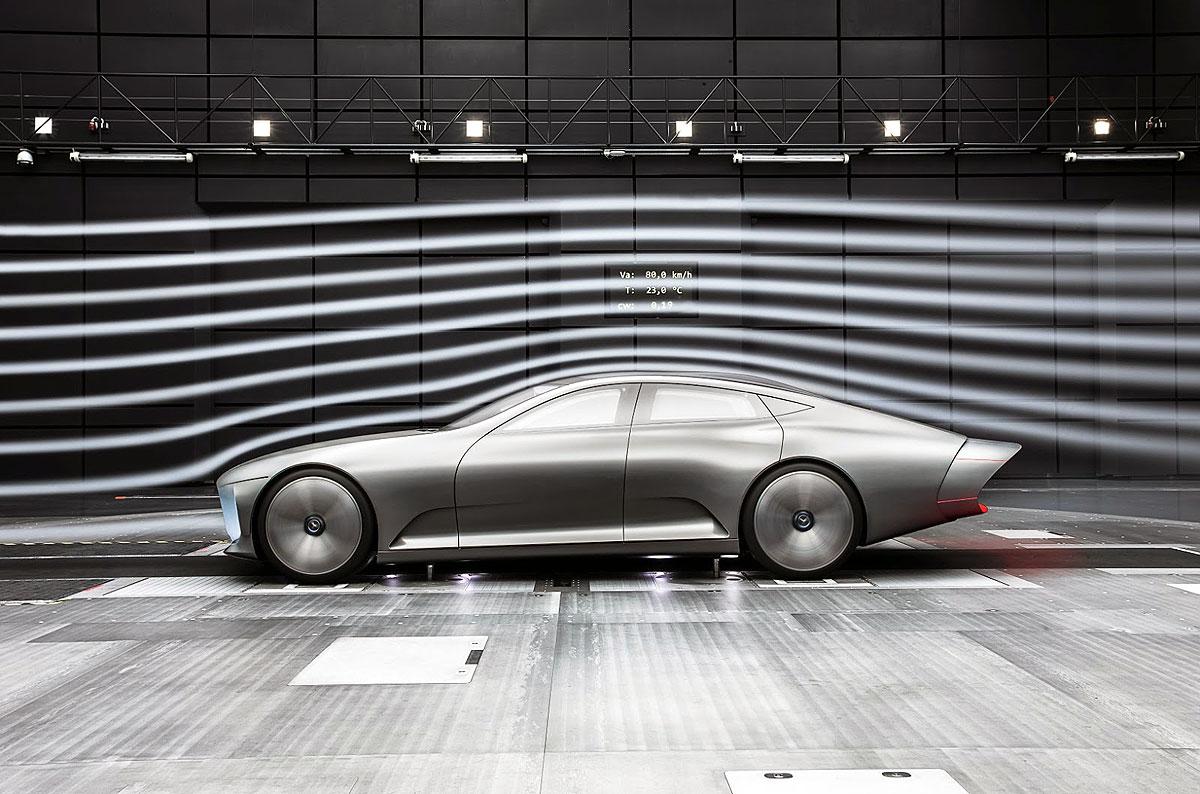 Automobil u 'aerodinamičkom' modu