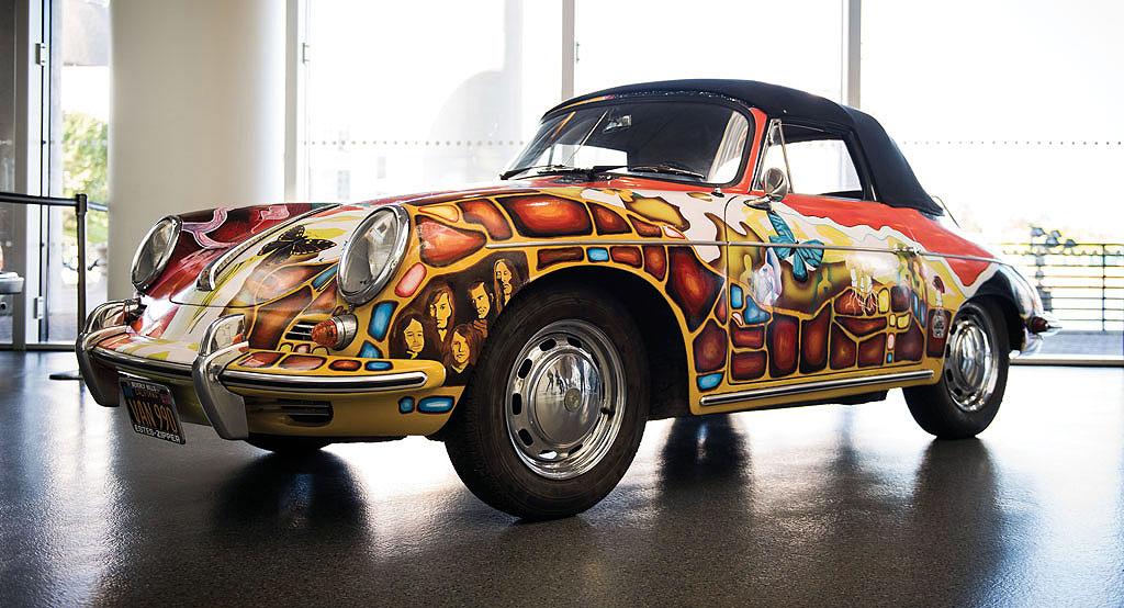 "Prodaje se ""psihodelični"" Porsche legendarne pjevačice"