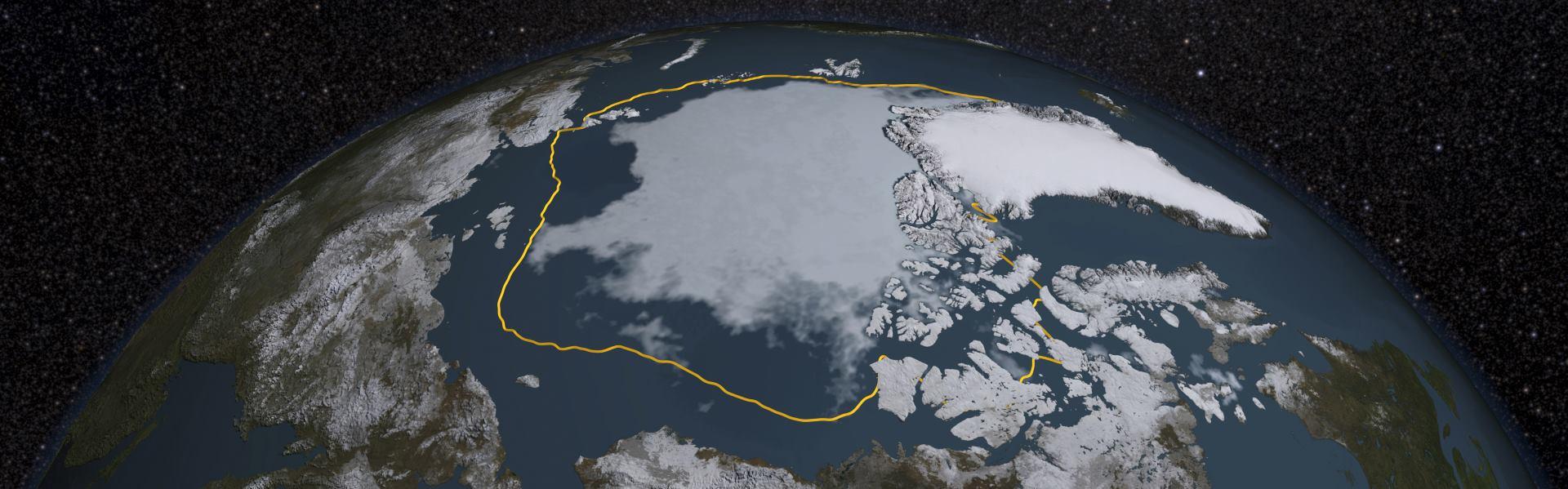 VIDEO: Arktički ledeni pokrivač na svom minimumu