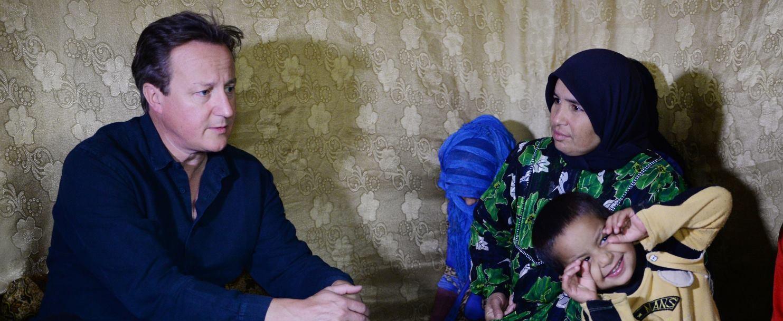 POSJET REGIJI David Cameron upoznao sirijske izbjeglice
