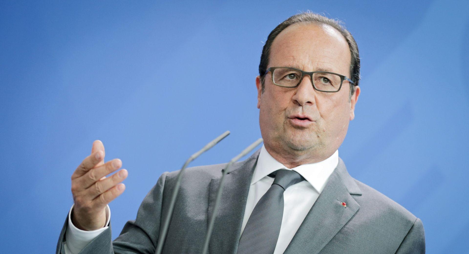 Hollande: Europa je preuzela odgovornost prema izbjeglicama