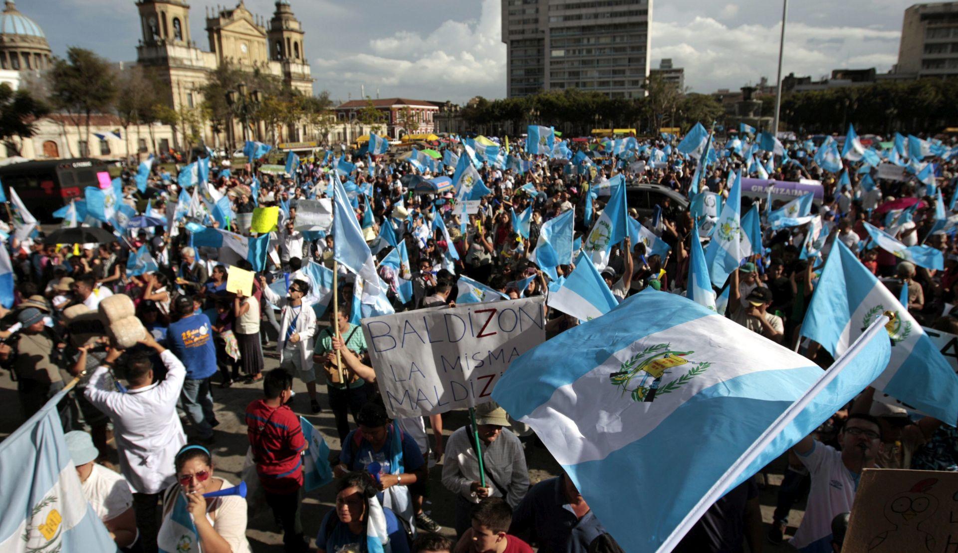 KORUPCIJSKI SKANDAL Izdan nalog za uhićenje predsjednika Gvatemale Otta Pereza Moline