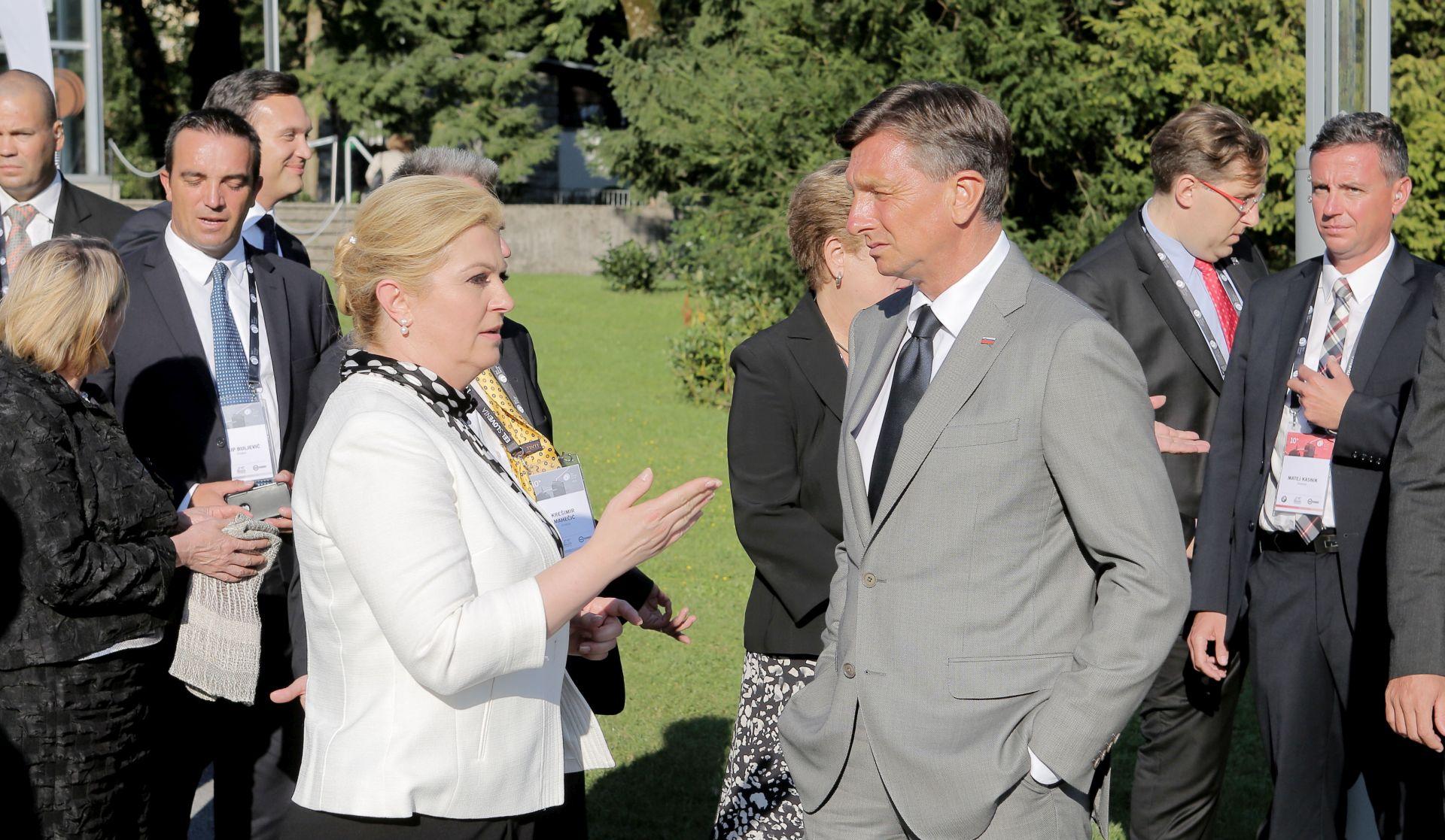 """Avaz"": Grabar-Kitarović i Pahor u diplomatskoj ofenzivi za zapadni Balkan"