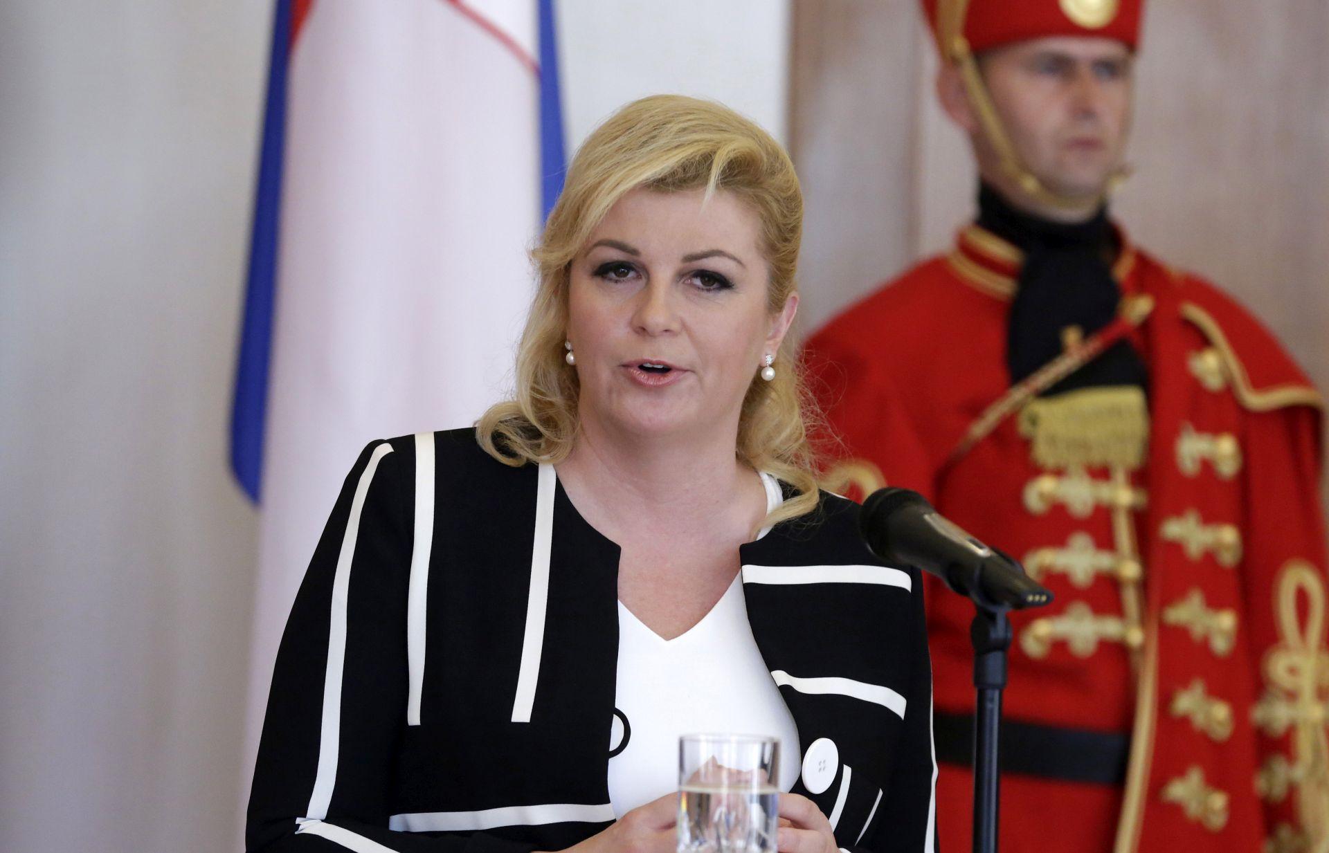 """Grabar Kitarović za APA-u: """"Crta od Baltika do Jadrana je prirodna"""""""