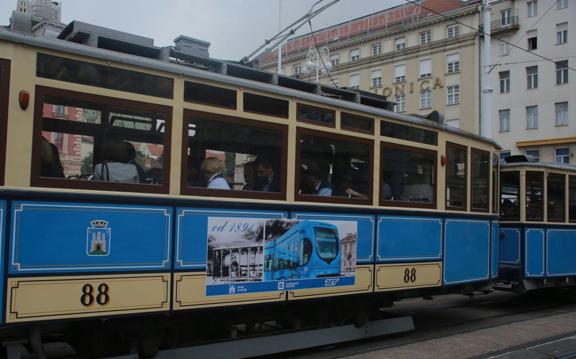 FOTO: ZET simobolično proslavio 124. obljetnicu organiziranog javnog prijevoza u Zagrebu