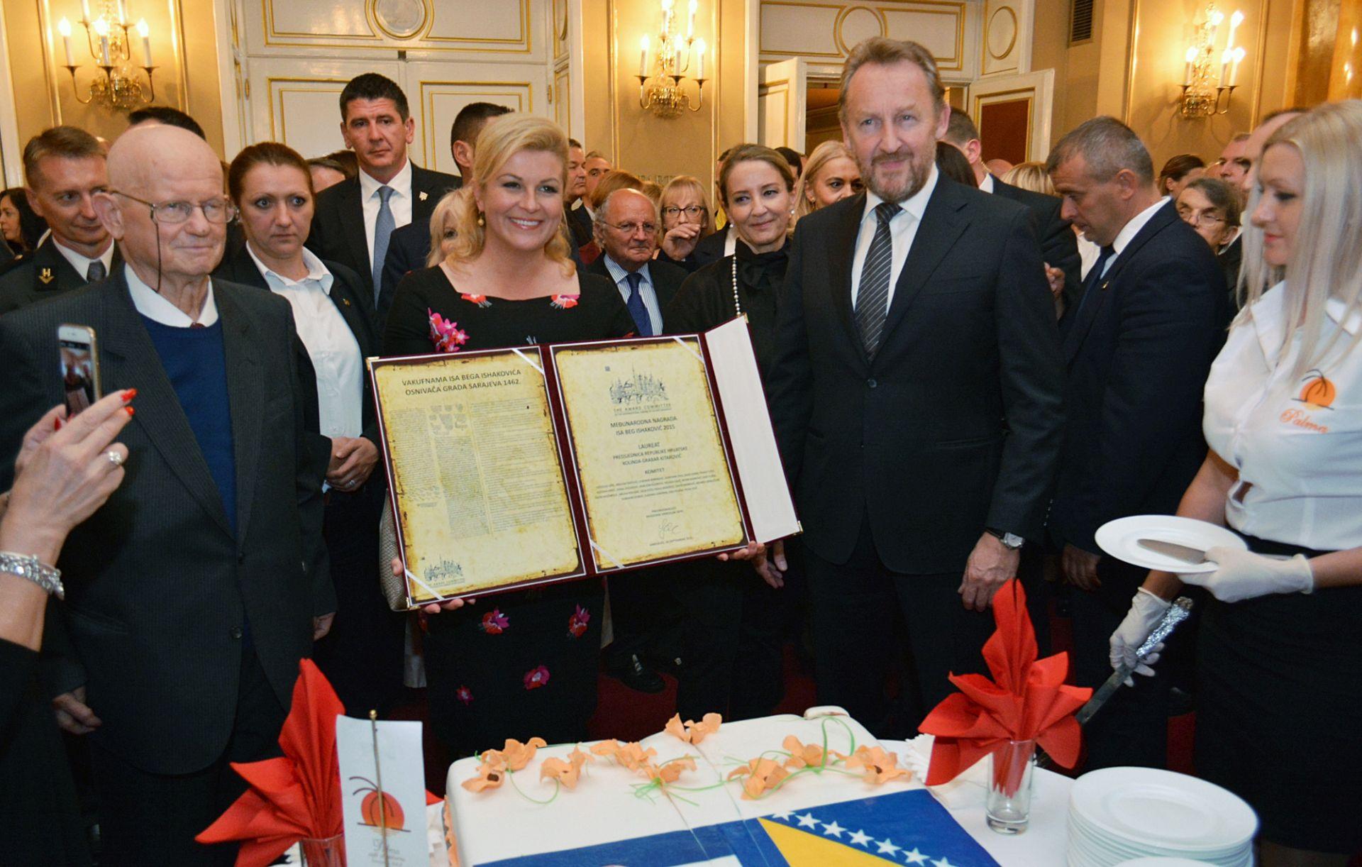 Grabar-Kitarović: Europska ideja unatoč krizi ne gubi privlačnost
