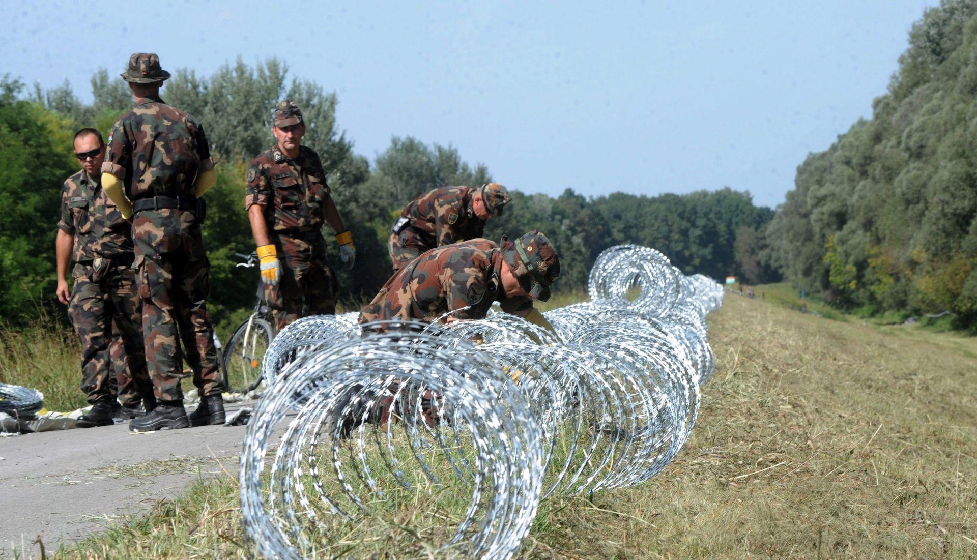 Slovenija uočila da Mađarska postavlja ogradu na granici