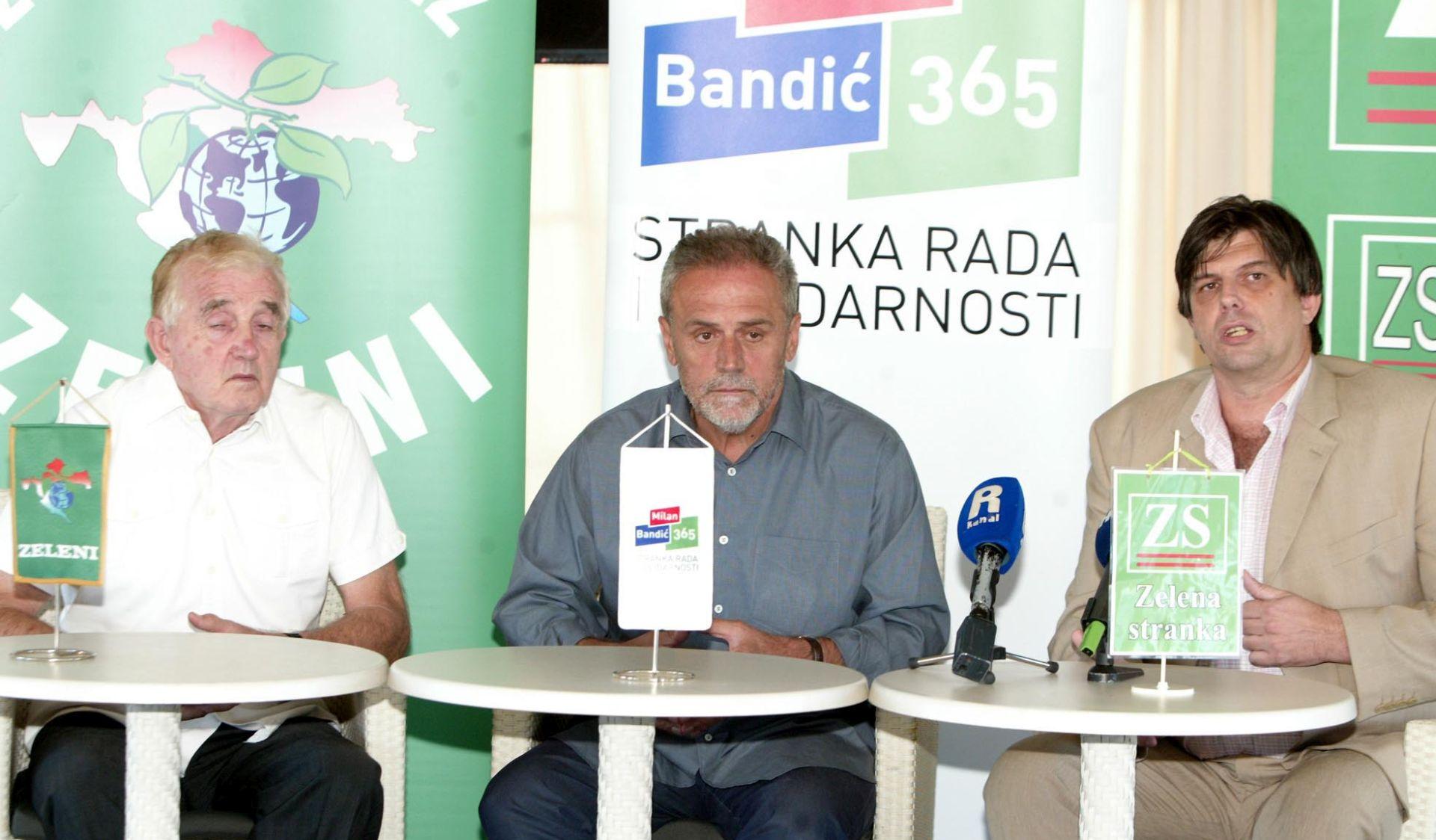 'NA IZBORE IDEM POBIJEDITI' Bandić za utorak najavio sklapanje koalicije s pet stranaka