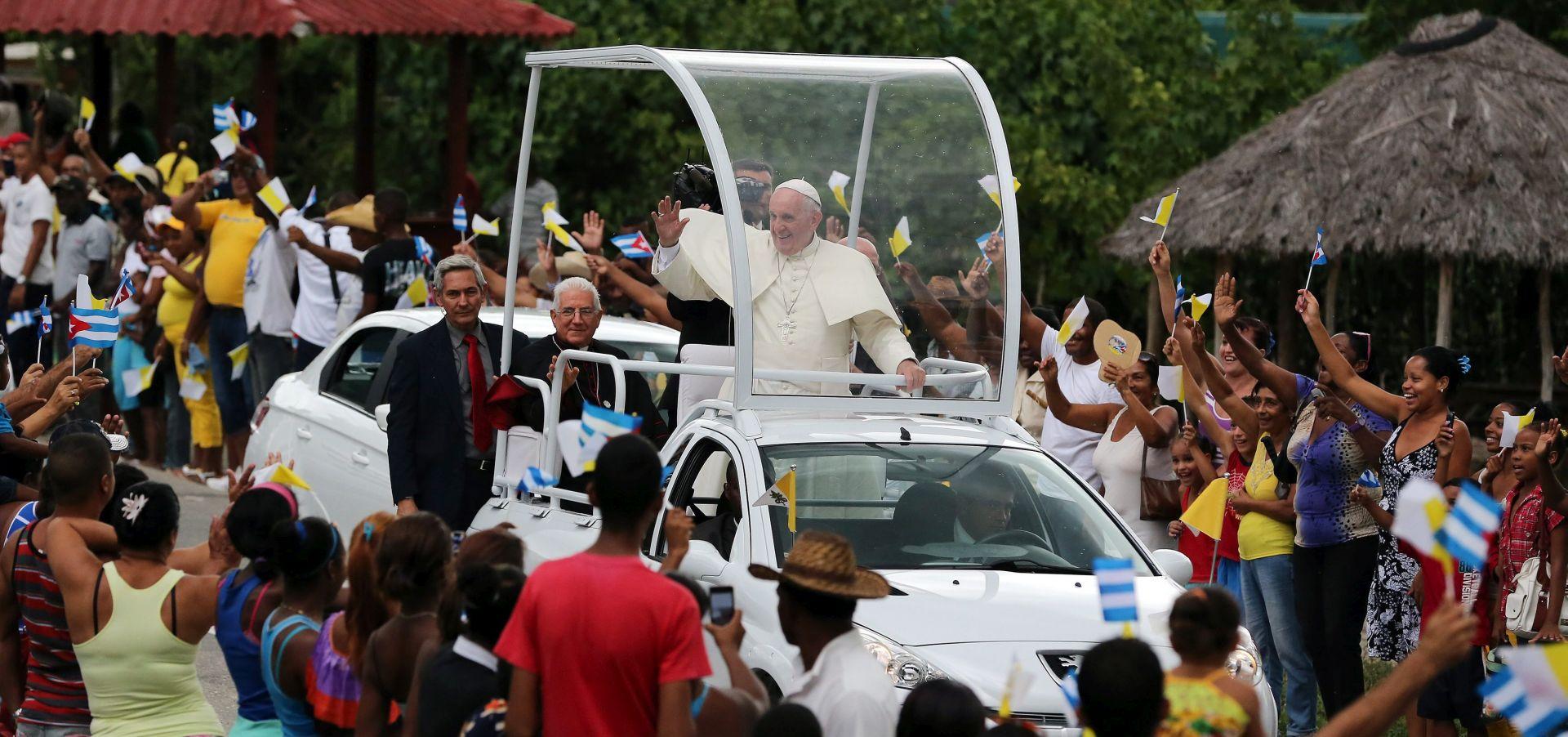 Papa svojim posjetom ponovno spaja Kubu i SAD