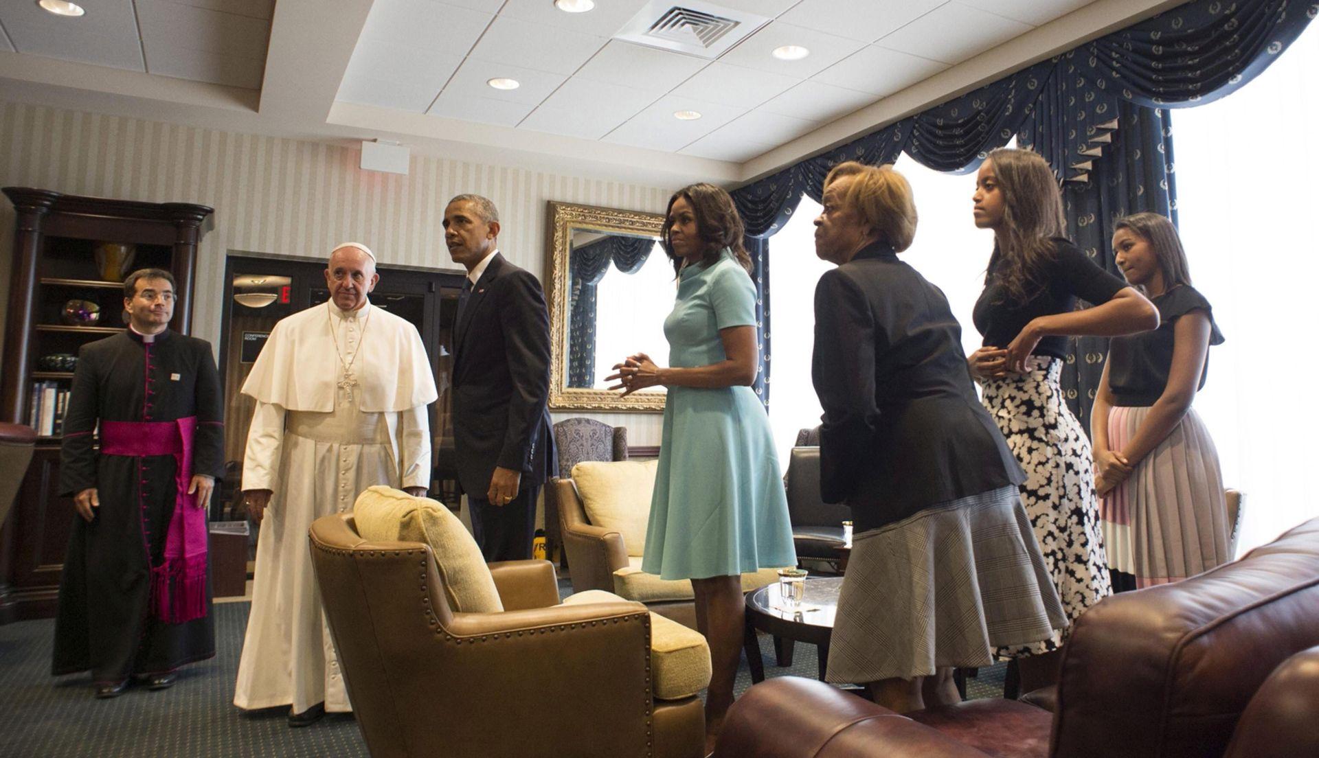 Papa u Bijeloj kući pozvao SAD na izgradnju istinski tolerantnog društva