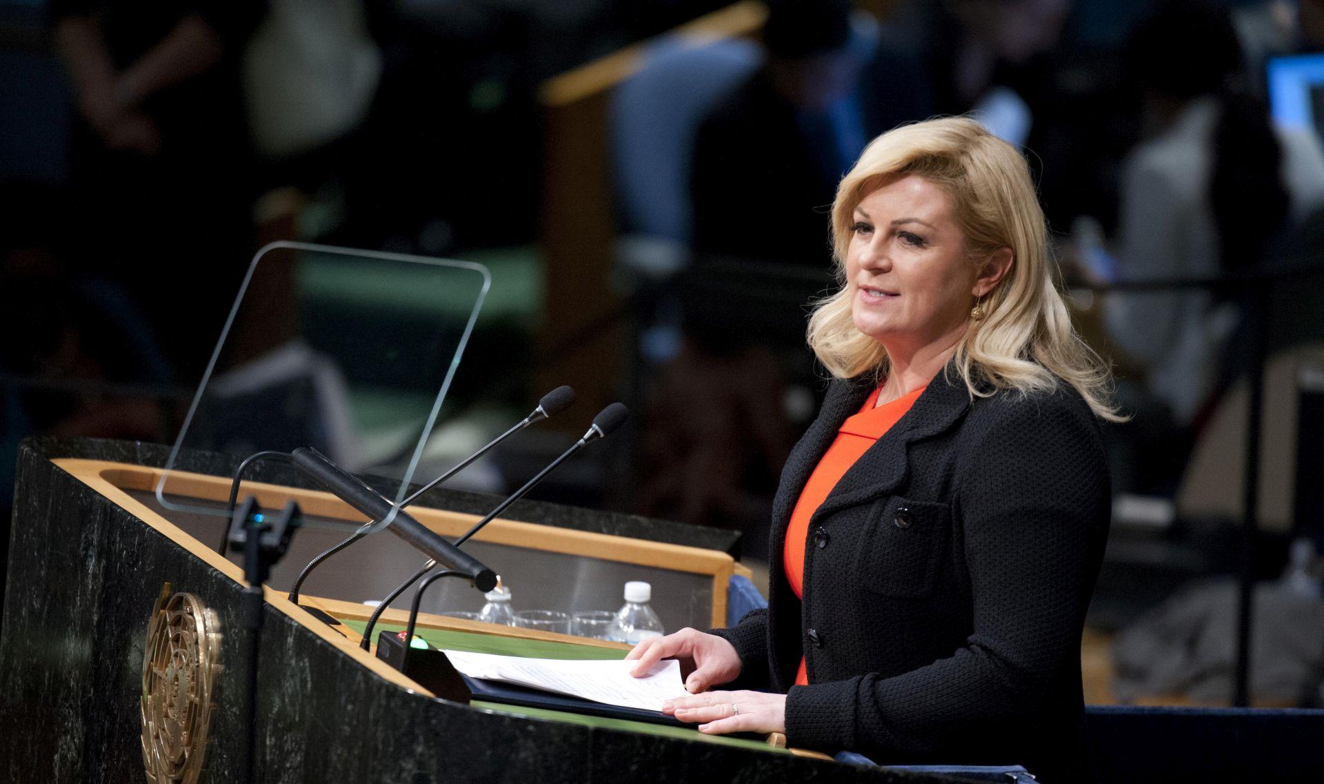 IDUĆI TJEDAN DATUM IZBORA Predsjednica o susretu s Nikolićem: To je njihovo viđenje