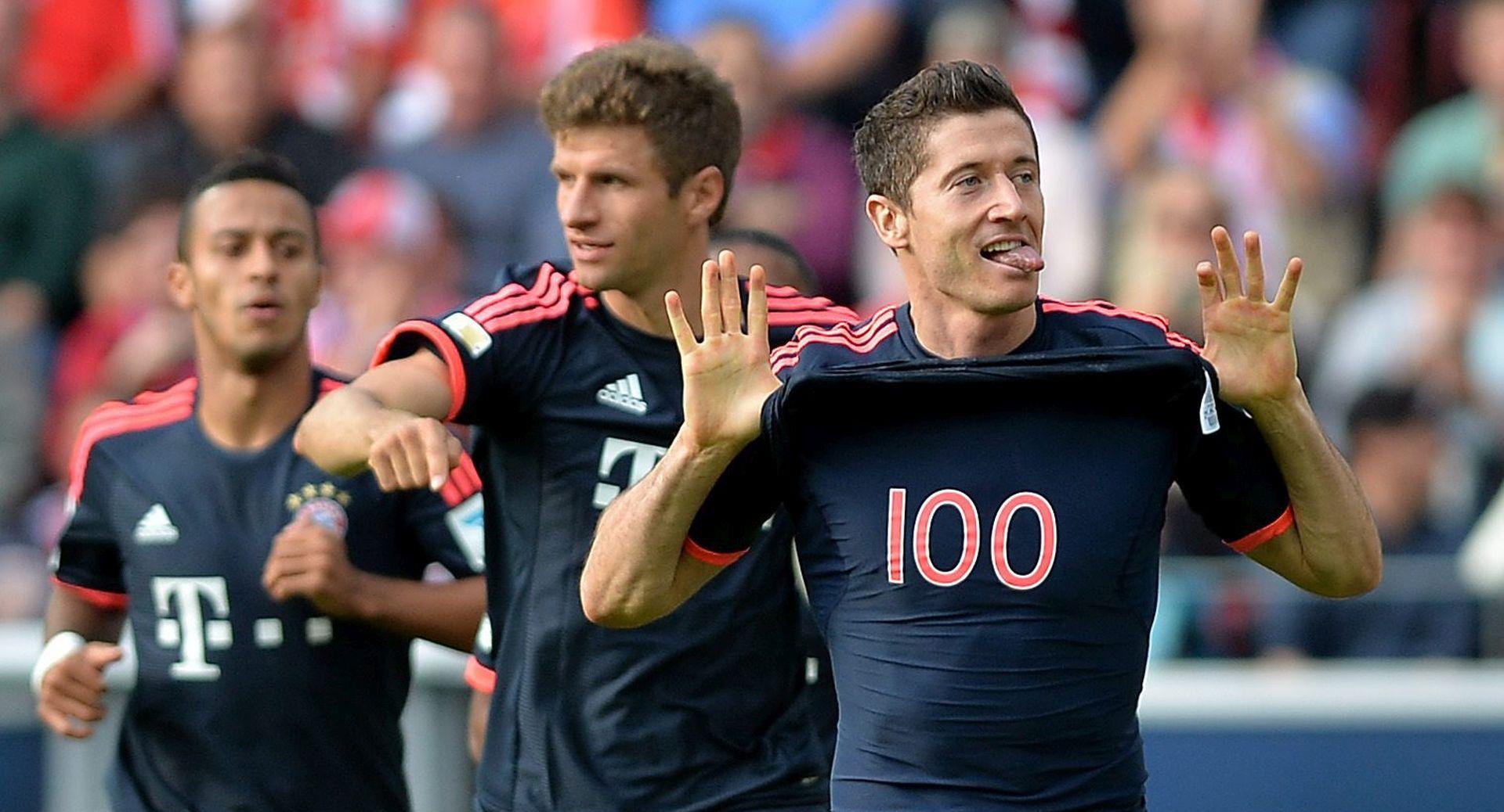 BUNDESLIGA Pobjeda Bayerna s dva pogotka Roberta Lewandowskog