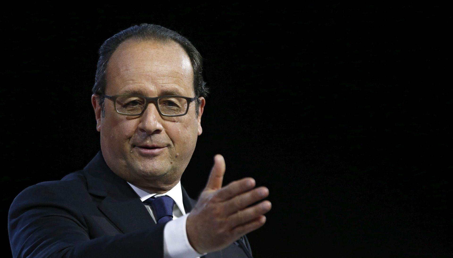 Hollande: Ne možemo više i nećemo trpjeti izbjegličke kampove