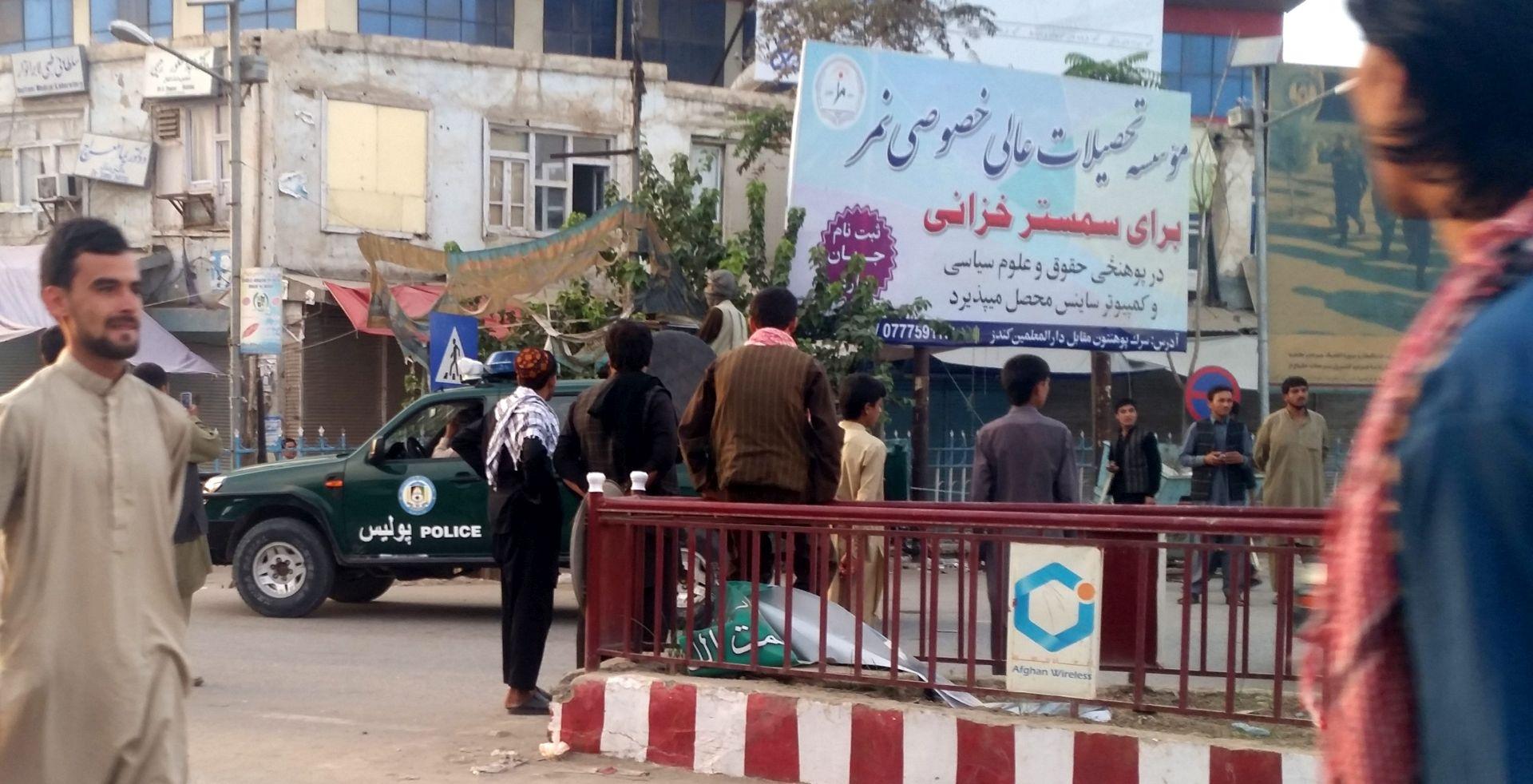 Afganistanske snage krenule u operaciju oslobađanja Kunduza od Talibana