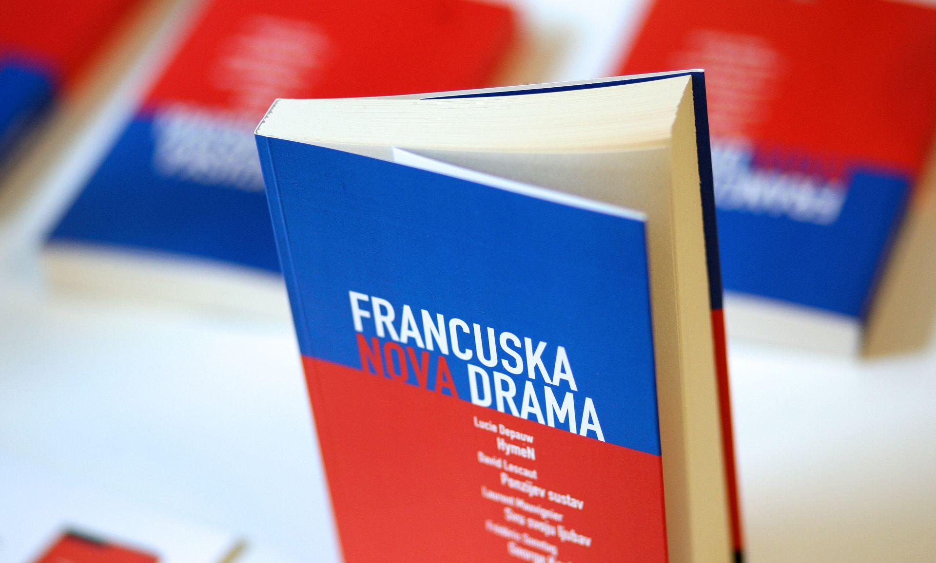 """Predstavljena knjiga dramskih tekstova """"Francuska nova drama"""""""
