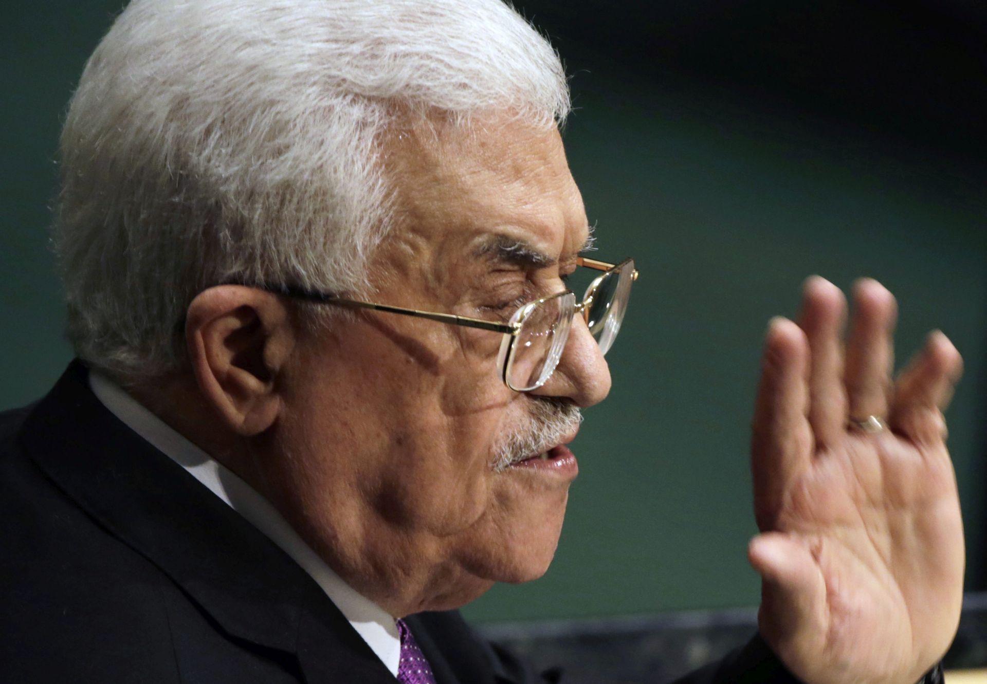 """ABBASOV GOVOR U UN-U """"Izrael mora u potpunosti preuzeti odgovornost kao okupirajuća sila"""""""