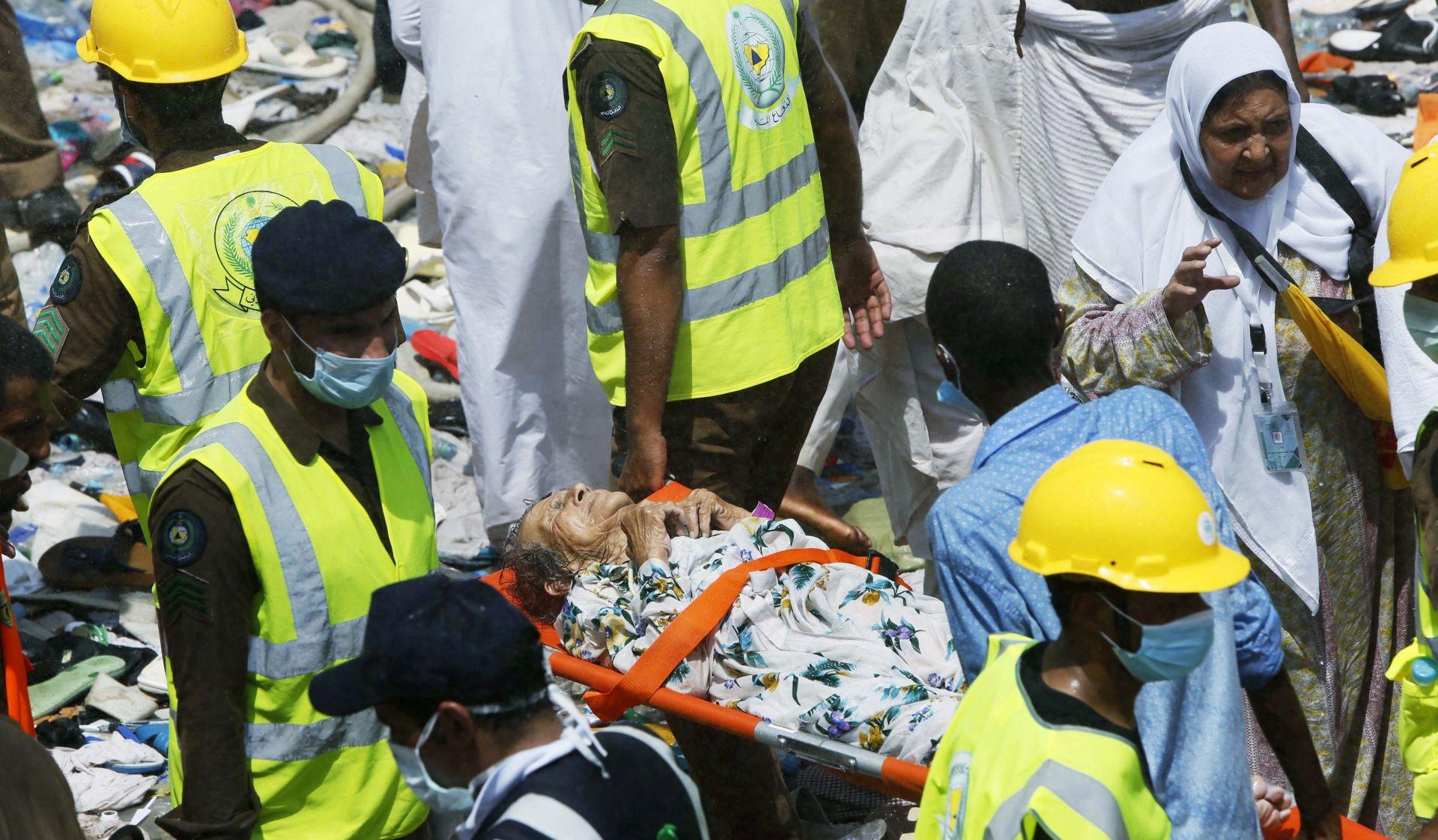 SUMNJA Dužnosnici vjeruju kako je poginulih u stampedu u Meki više od tisuću