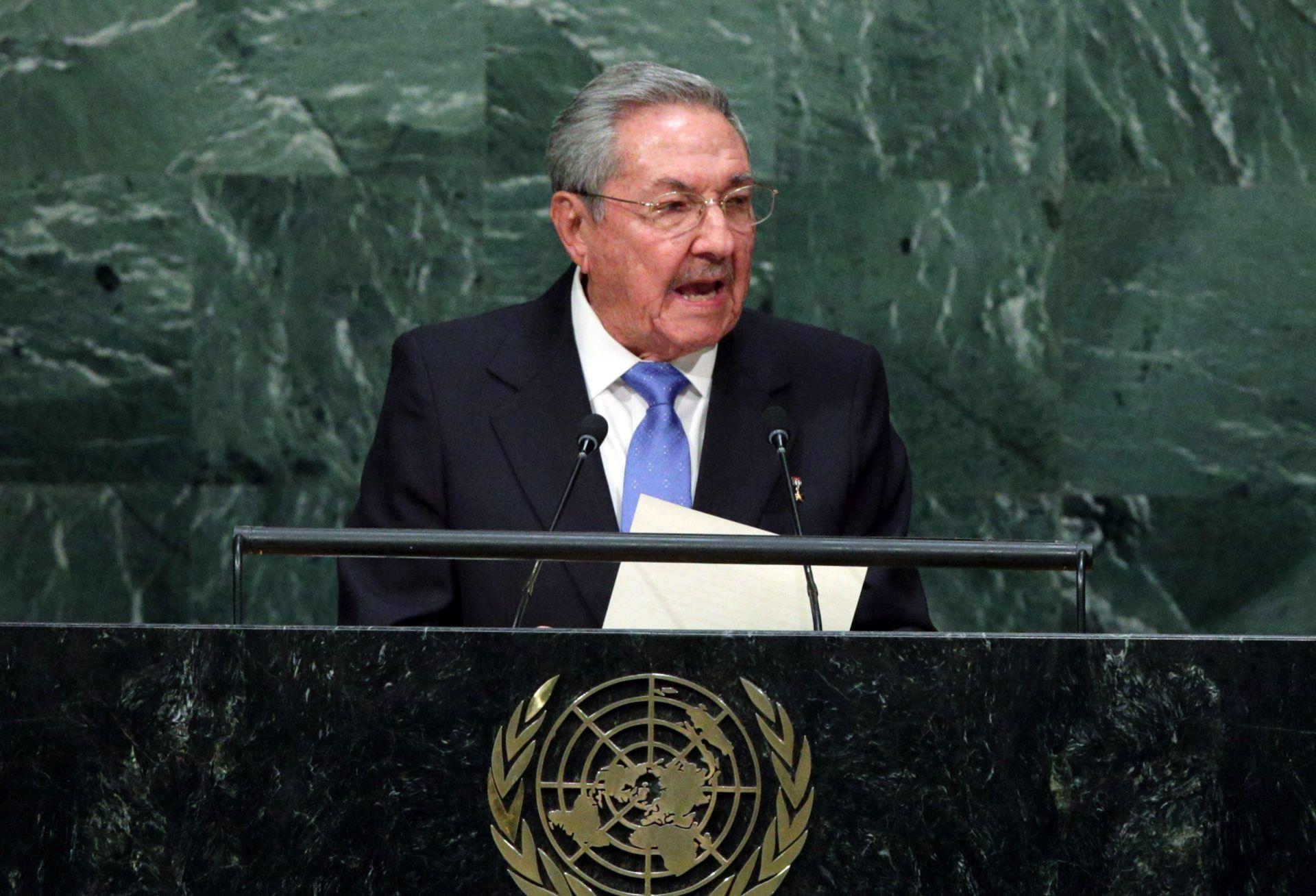 Kubanski predsjednik Castro pozvao na ukidanje američkog trgovinskog embarga