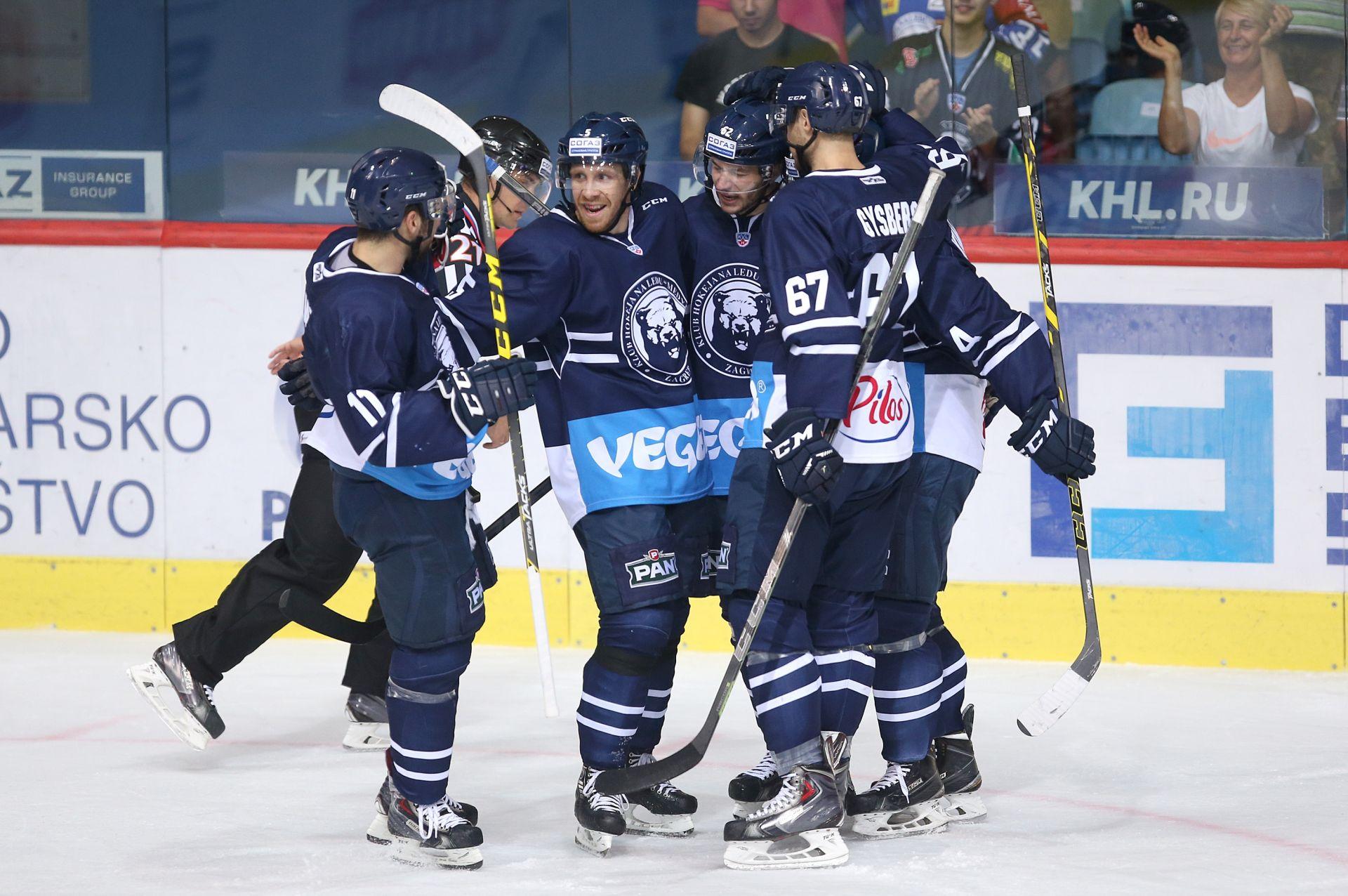 FOTO: NOVA KHL POBJEDA U LEDENOJ Medveščak na diobi prve pozicije