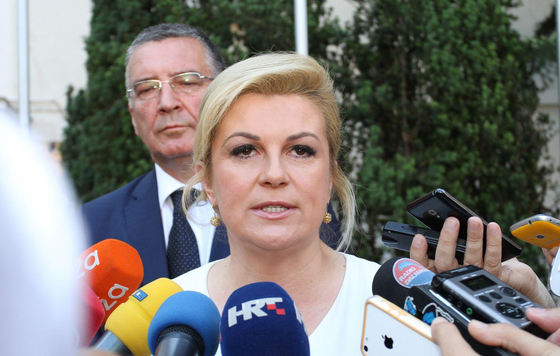 Grabar-Kitarović: Odluku o kandidatu za glavnog tajnika UN-a trebalo je prepustiti novoj vladi