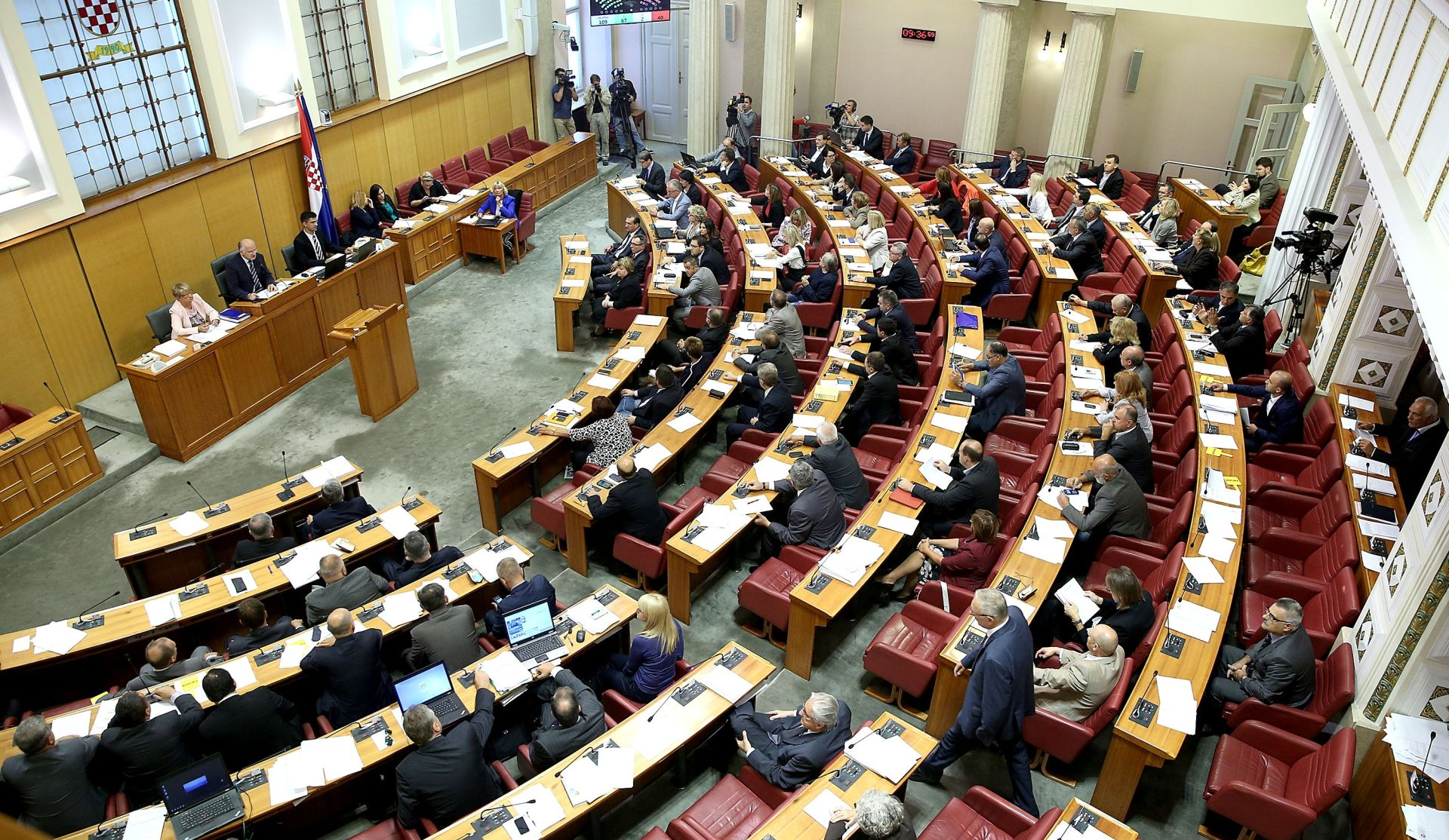 SABOR: Stanka zbog odluke Ustavnog suda, zloporabe položaja …