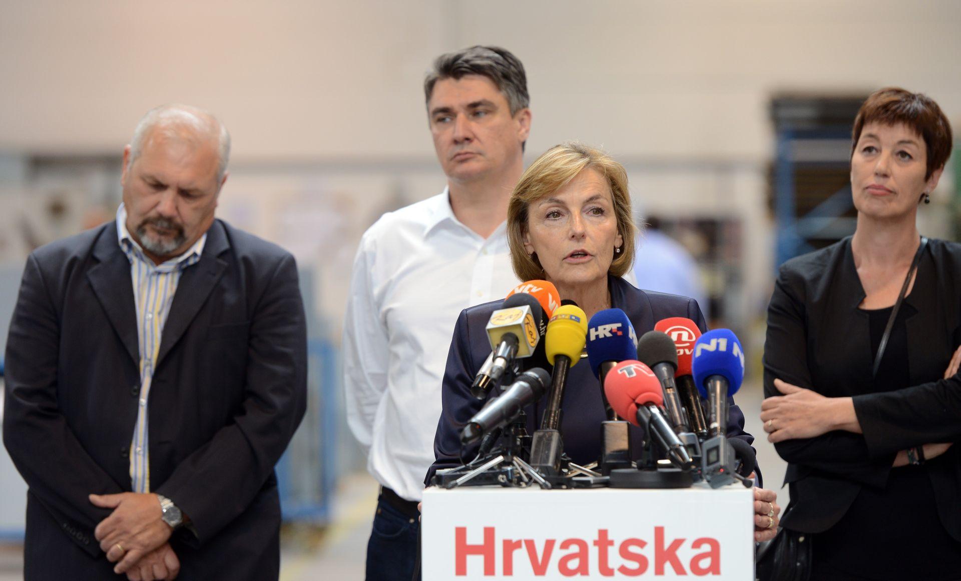 """VESNA PUSIĆ """"Koalicija s 'Uspješnom Hrvatskom' nije realna mogućnost"""""""