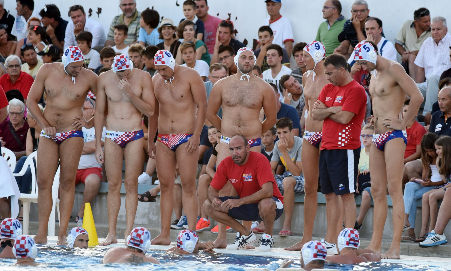 EUROPSKO PRVENSTVO Hrvatski vaterpolisti u drugoj jakosnoj skupini