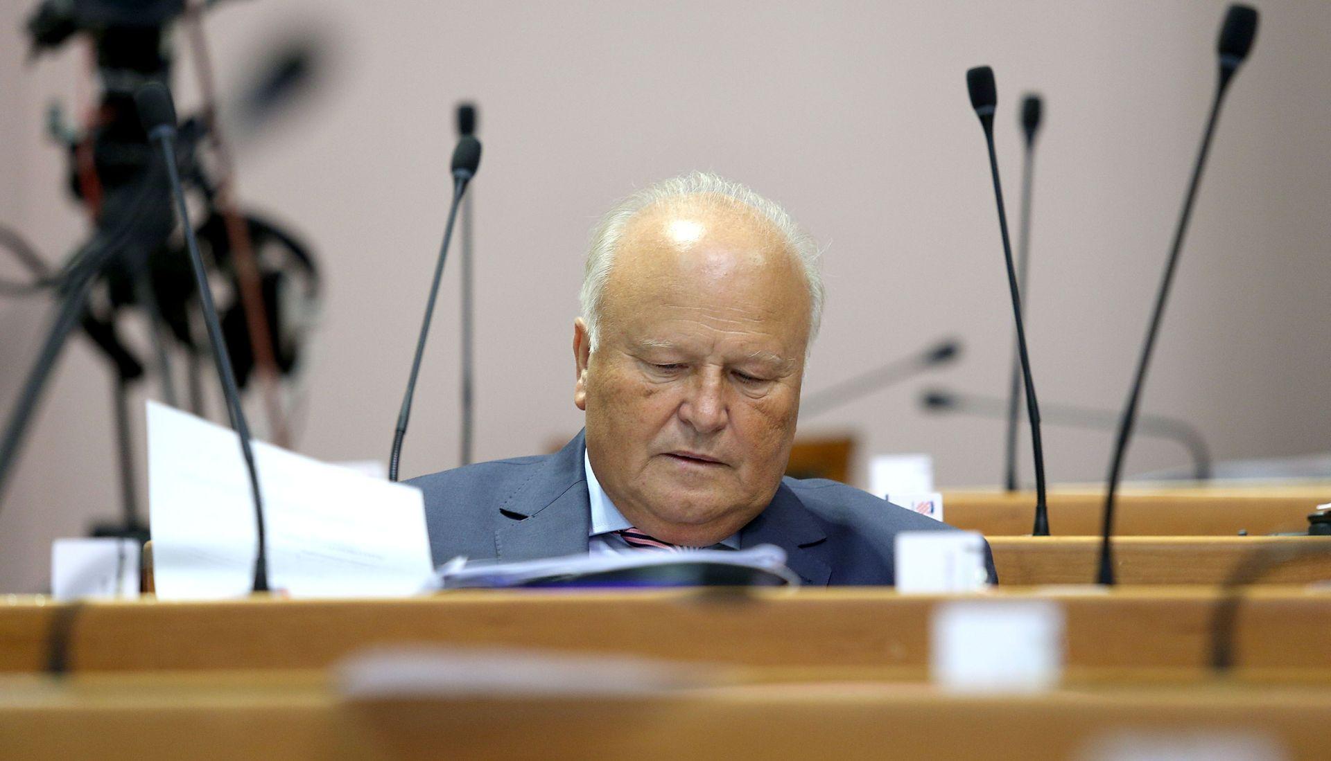 Linić se ponovo žalio saborskom odboru da ga je policija nezakonito istraživala