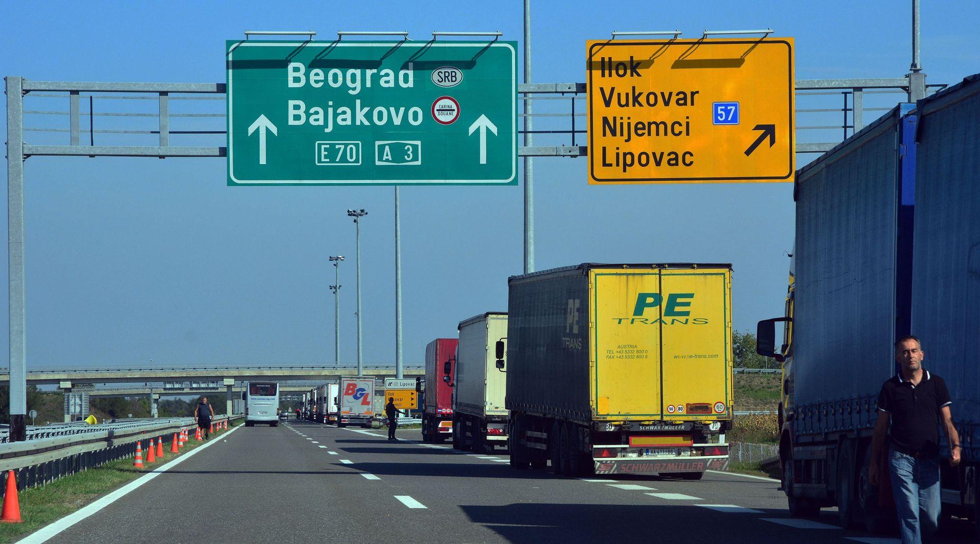 IZBJEGLICE Hrvatska otvara Bajakovo za svu kvarljivu robu