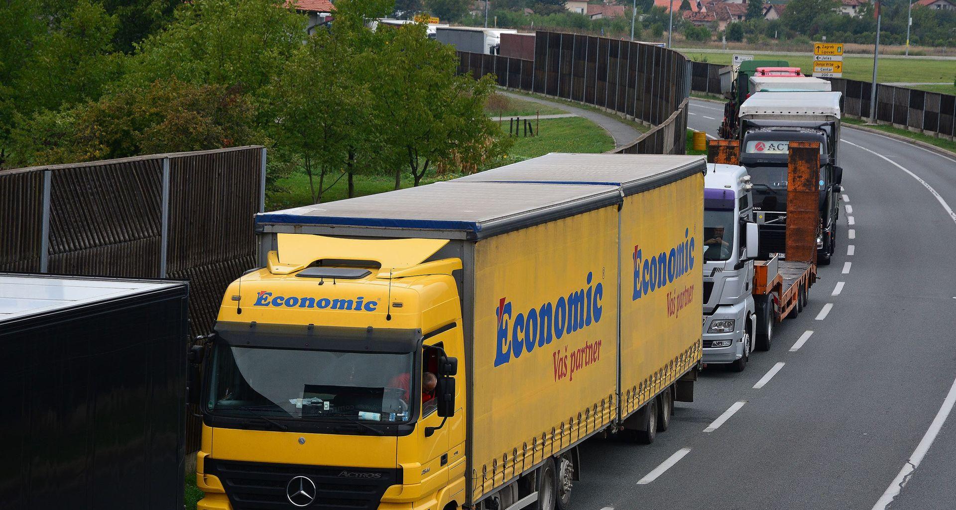 BiH: Kolone kamiona iz Srbije zakrčile dva granična prijelaza