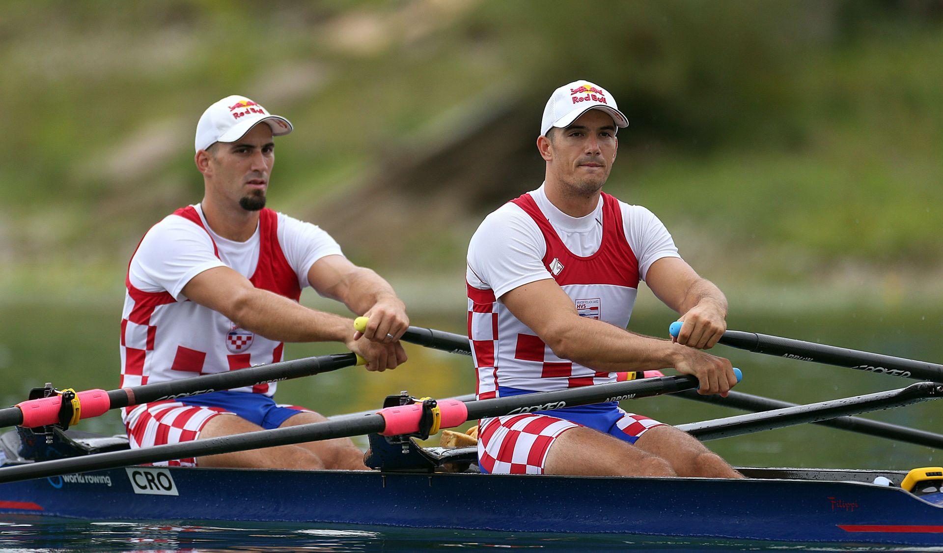 DVOJAC NA PARIĆE Braća Sinković obranili naslov svjetskih prvaka