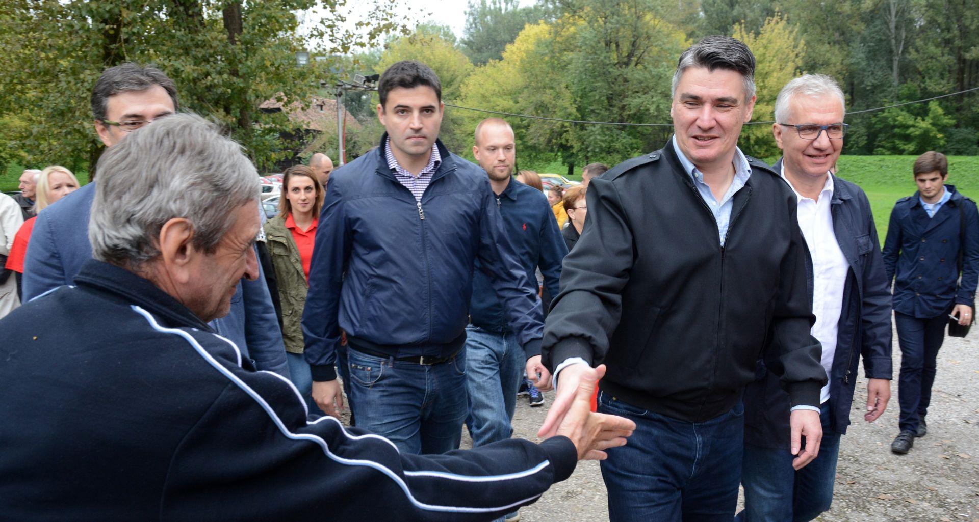 """MILANOVIĆ U SISKU """"Žica je simbol zla, podjele i mržnje i to na hrvatsku granicu ići neće"""""""