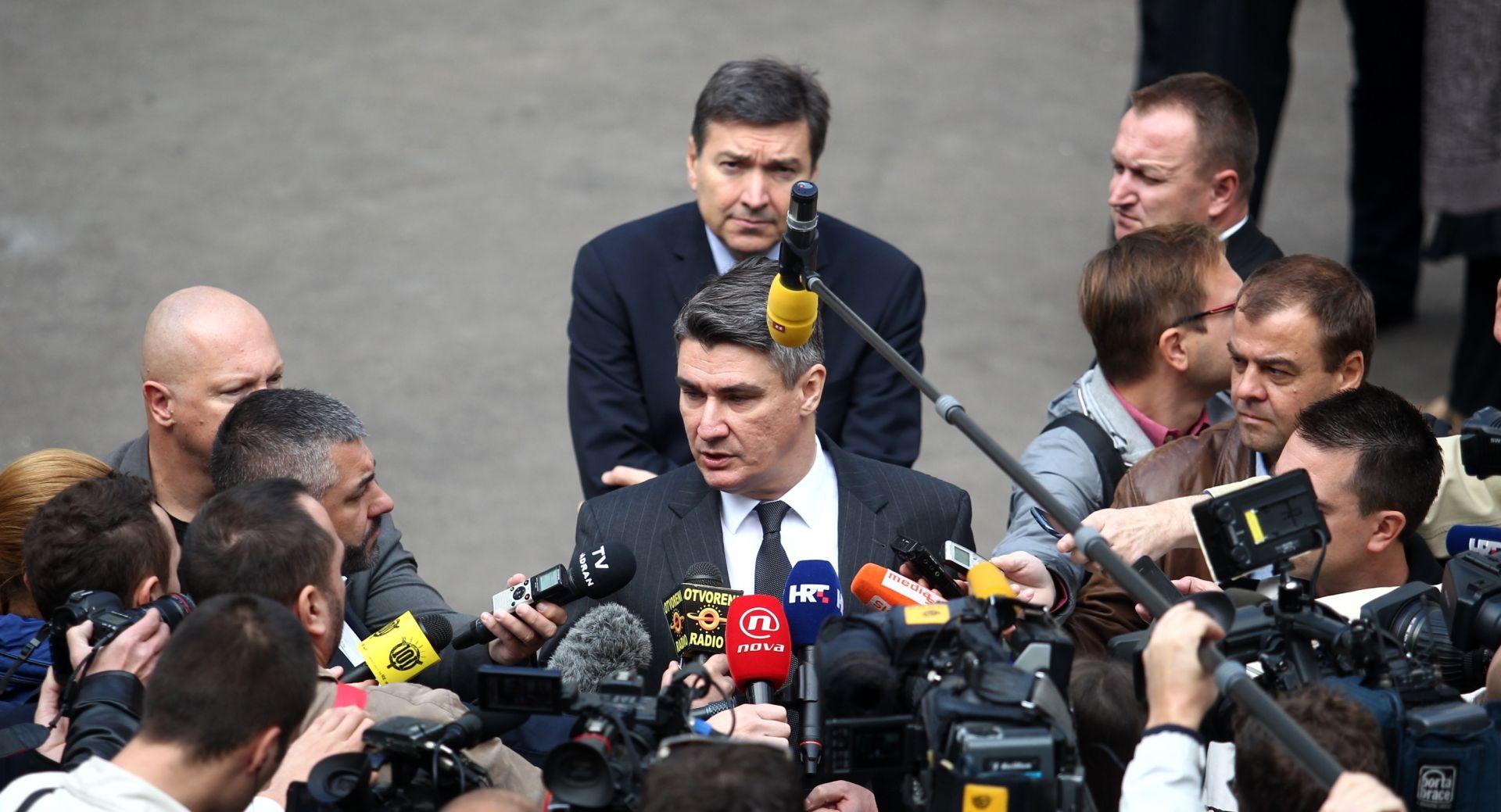 Milanović: SDP ima program za razliku od HDZ-ove doline suza