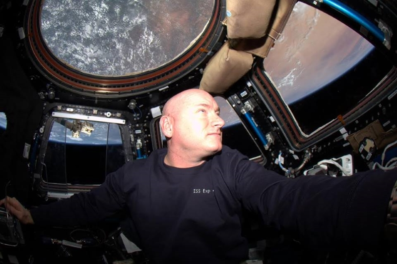 Astronaut Scott Kelly FOTO: NASA/facebook.com