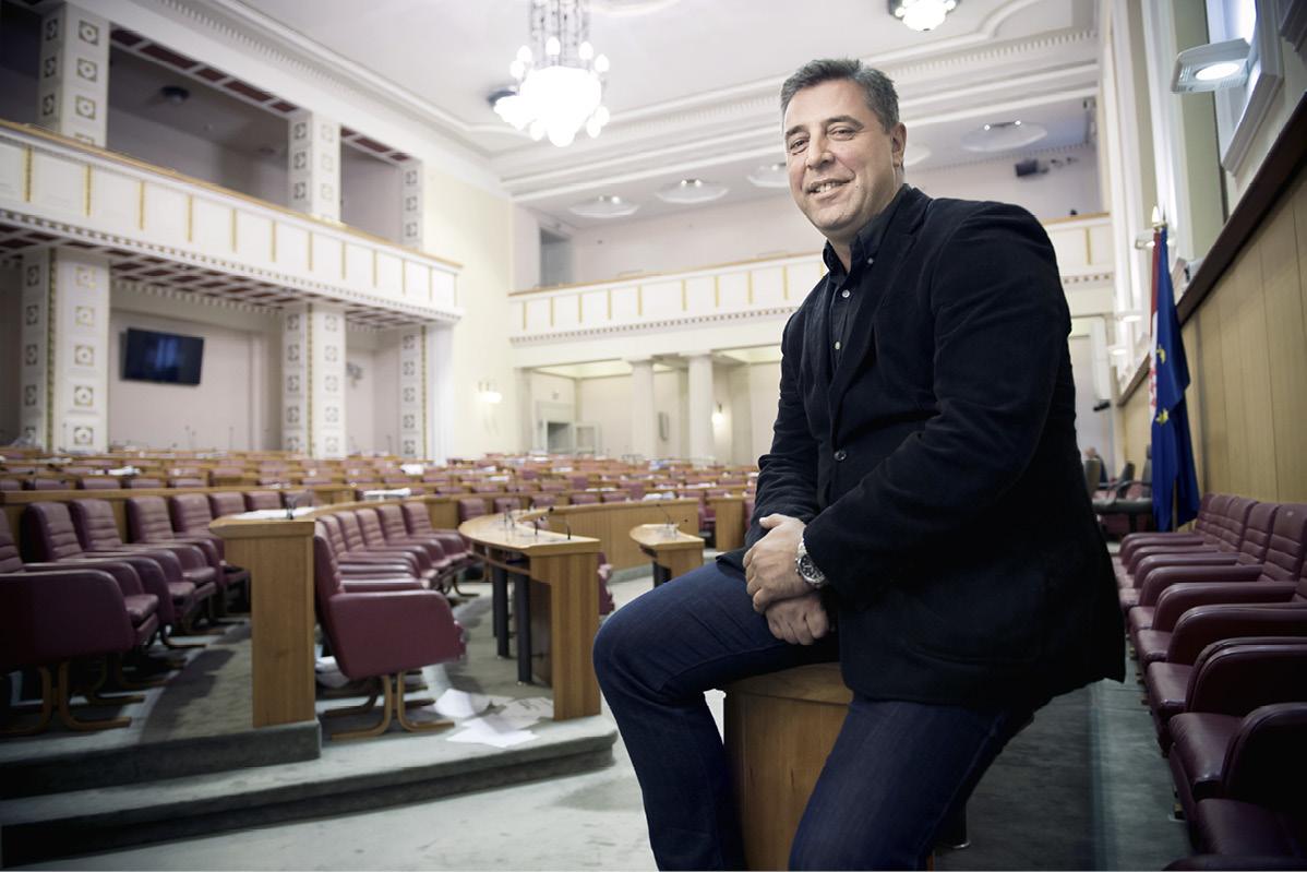INTERVJU Franko Vidović: 'Agenti banaka i policijsko-špijunska zavjera ovoga puta neće proći na izborima'