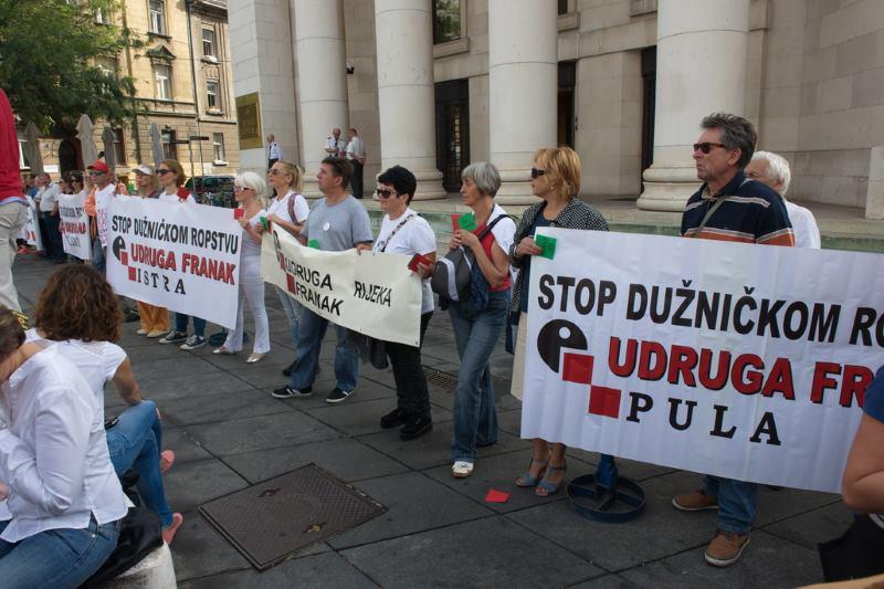 UDRUGA FRANAK: Ne vršite pritisak na Ustavni sud