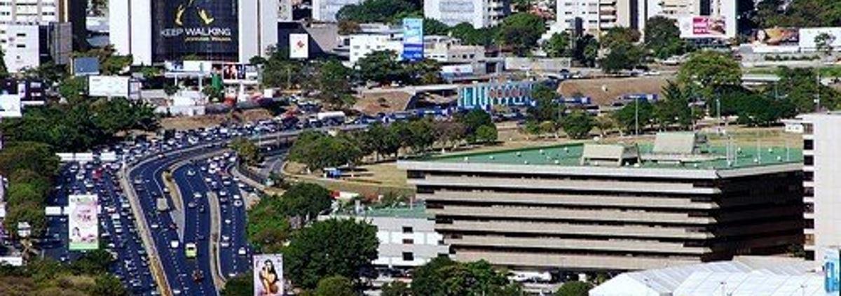 VIDEO: Pogledajmo grad Caracas snimljen iz zraka