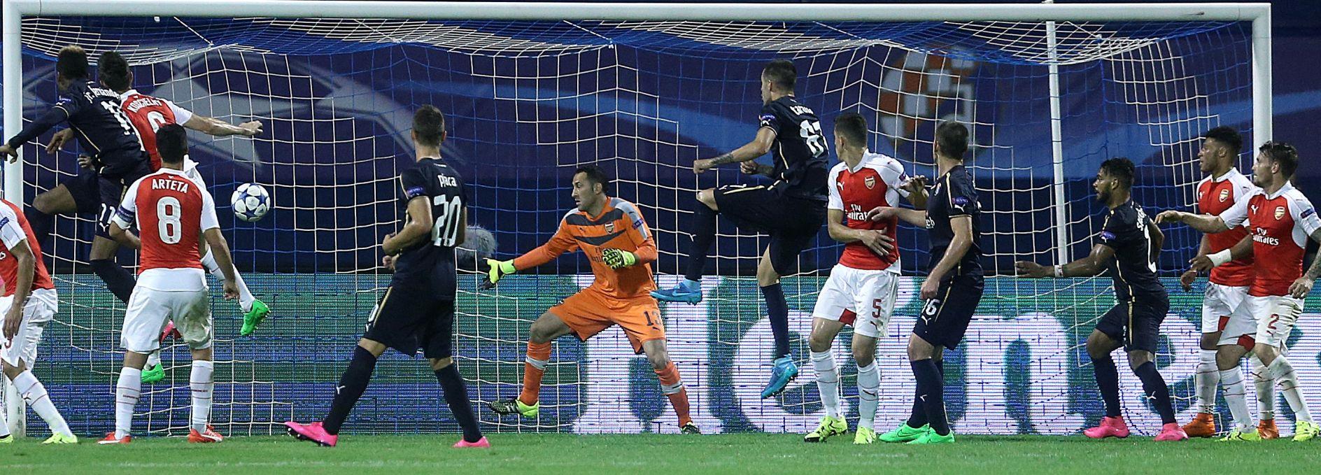 SENZACIJA Dinamo Ligu prvaka otvorio trijumfom nad Arsenalom!
