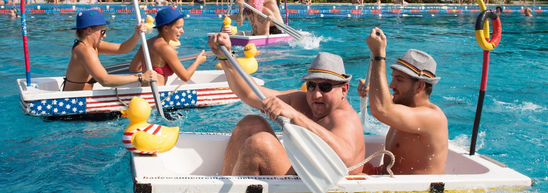 ZABAVA Svjetsko prvenstvo u utrkama kada za kupanje